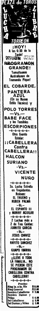 source: http://www.luchadb.com/images/cards/1970Laguna/19741027plaza.png