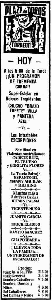 source: http://www.luchadb.com/images/cards/1970Laguna/19741215plaza.png
