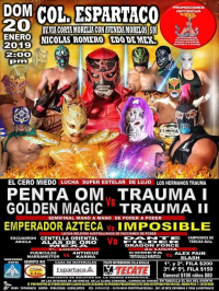 source: http://www.luchaworld.com/wordpress/wp-content/uploads/2019/01/promociones-antorcha-012019.jpg