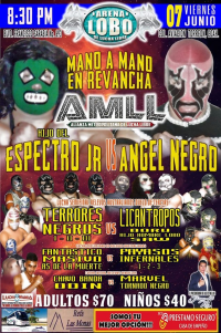 source: http://www.luchaworld.com/wordpress/wp-content/uploads/2019/05/AMLL-arenalobo-060719.jpg