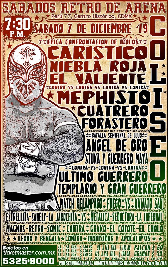 Una mirada semanal al CMLL (del 28 nov al 4 dic de 2019) 8