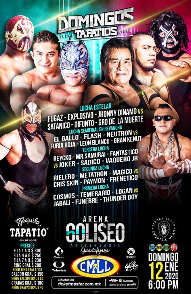 Una mirada semanal al CMLL (del 2 al 8 de enero 2020) 9